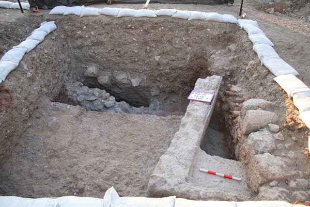 4. The stepped pool from the early Byzantine period.