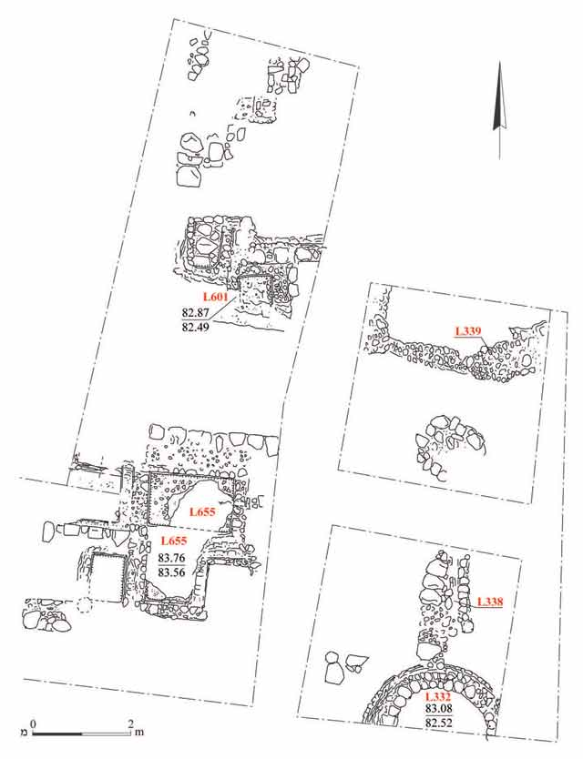 10. A complex of pools from the Early Islamic period, plan.
