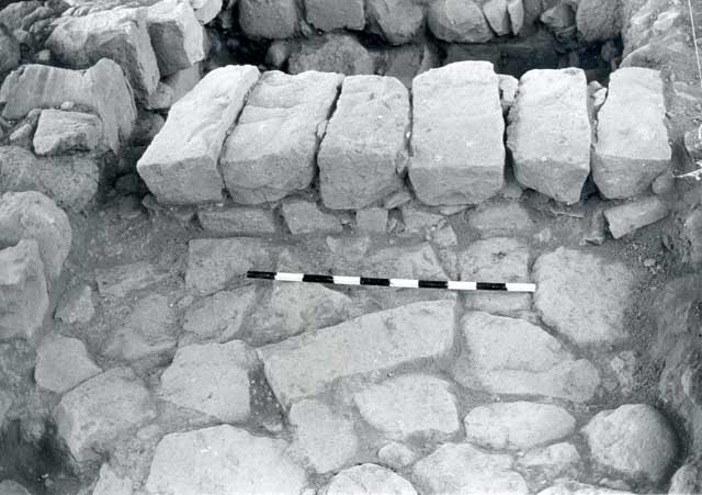 3. Area A, stone floor (L11).