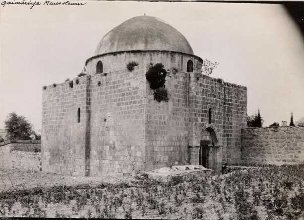 2. The structure, photograph from the British Mandate era, IAA Archive.