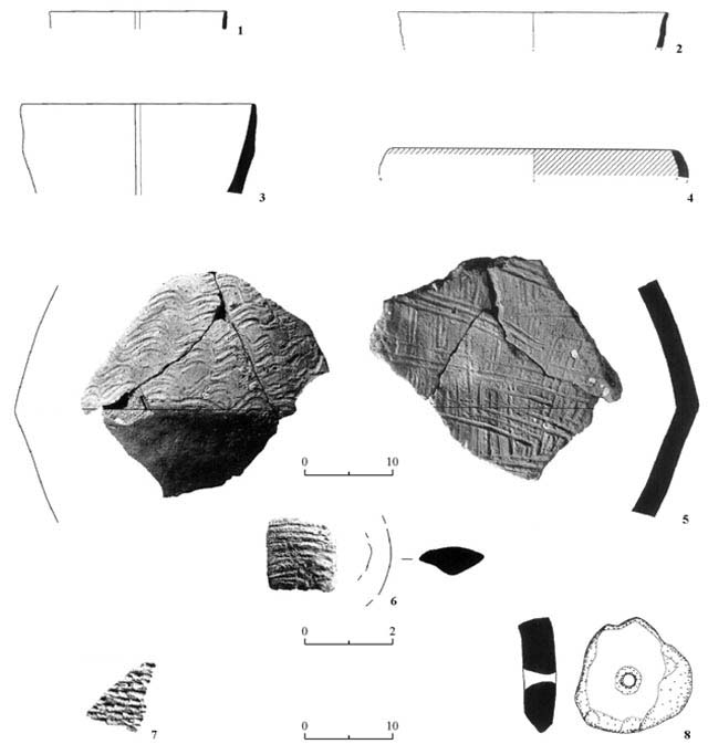 12. PN and Early Chalcolithic (Wadi Rabah) potsherds.