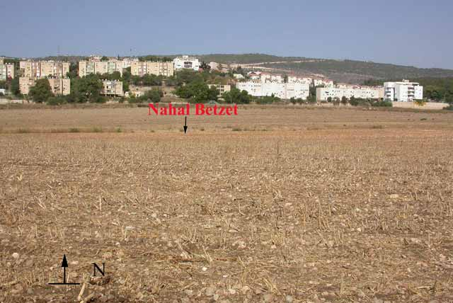 2. General view of Shelomi and Na<u>h</u>al Be<u>z</u>et, looking north.