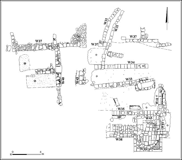 1. Area C, plan of church.