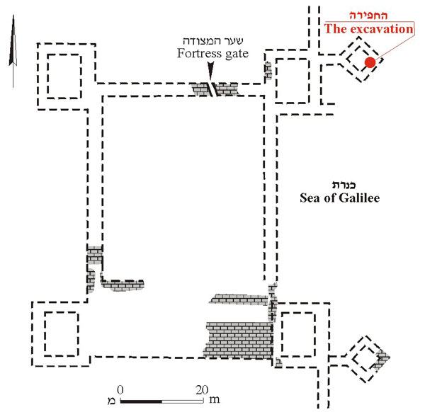 3. Plan of the fortress.