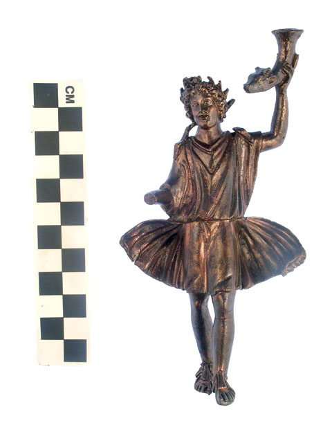 3. The Roman household idol Lar.