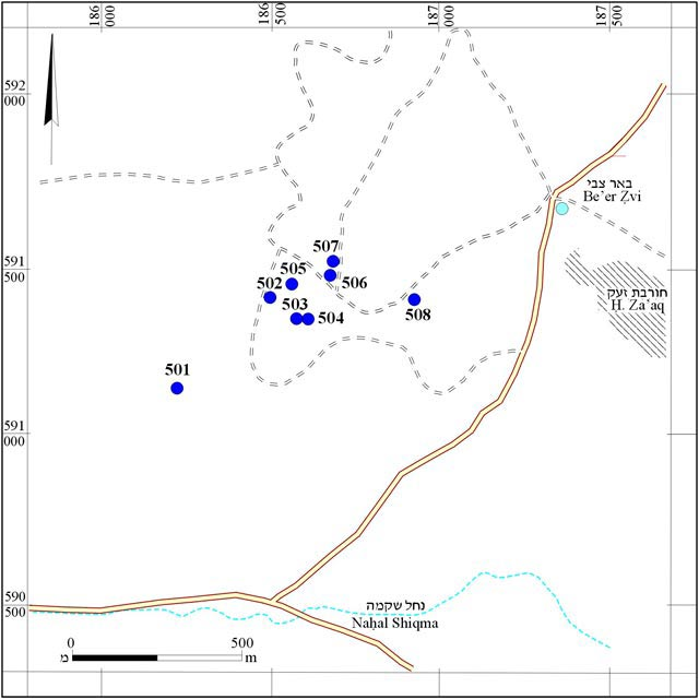 1. Survey map.