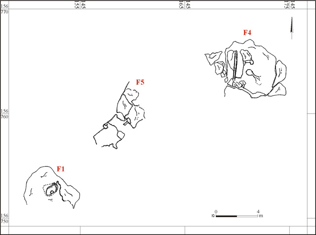 1. Excavation plan.