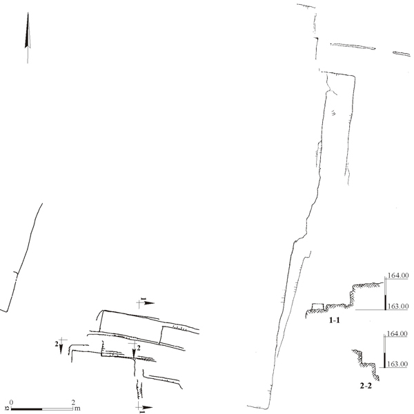 8. Quarry III, plan and sections