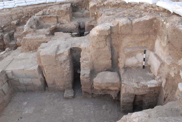 3. Hypocaust, west wing, looking west.