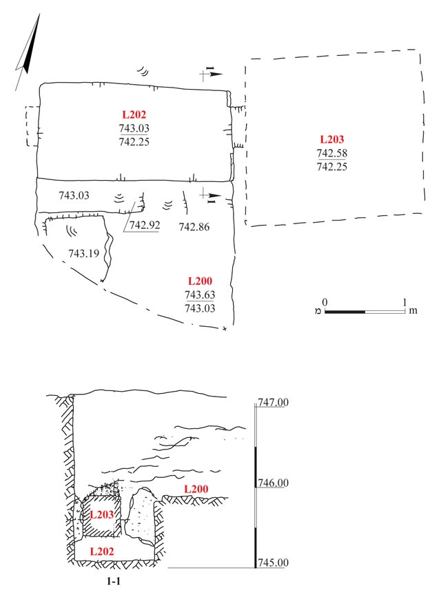 2. Cave, plan and section.
