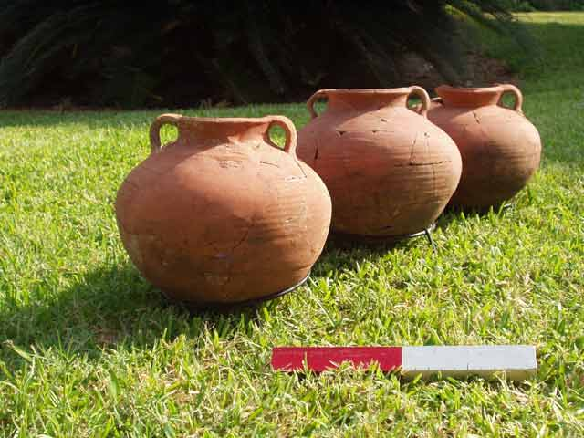 9. Cooking pots.