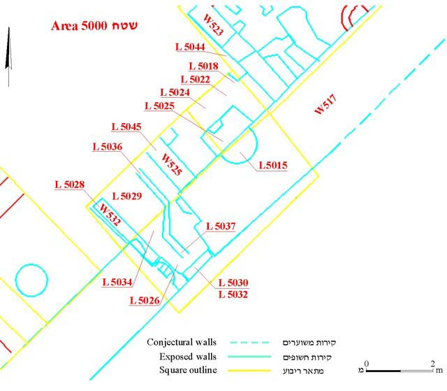 3. Plan of the lower occupation phase.