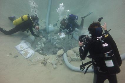 חפירה תת-ימית בכפר סמיר, חיפה
