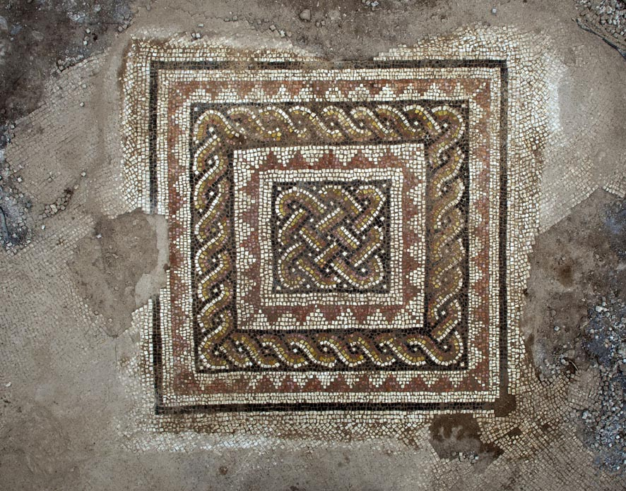 Mosaic floor at Kh. Shumeila, Ramat Bet Shemesh